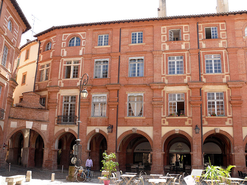 Photo du Monument Historique Immeuble situé à Montauban