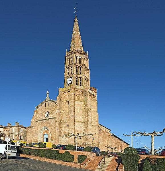 Photo du Monument Historique Eglise Notre-Dame de la Visitation situé à Montech
