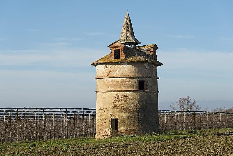 Photo du Monument Historique Pigeonnier de Saint-Cry situé à Montech