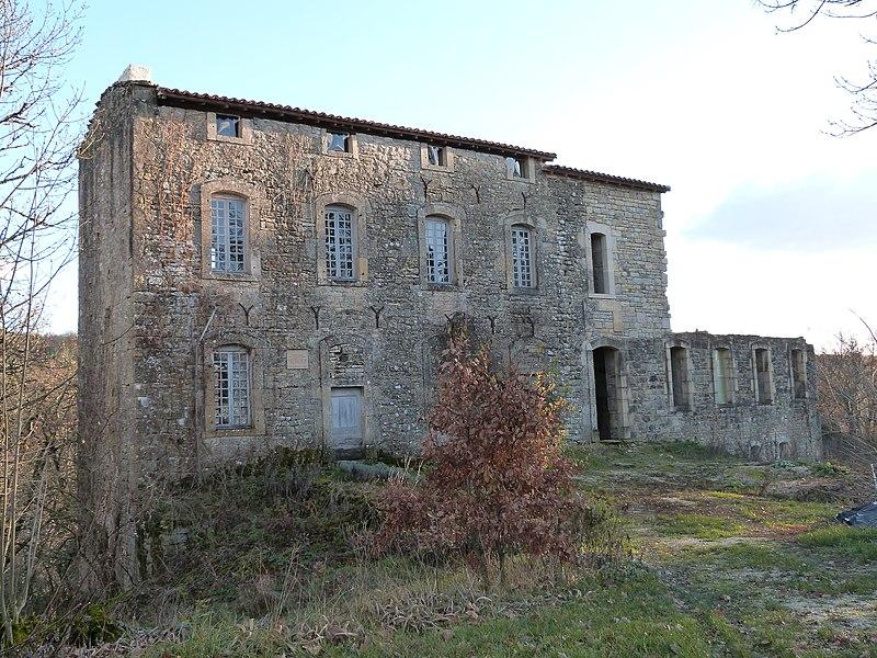 Photo du Monument Historique Château de Labro situé à Parisot
