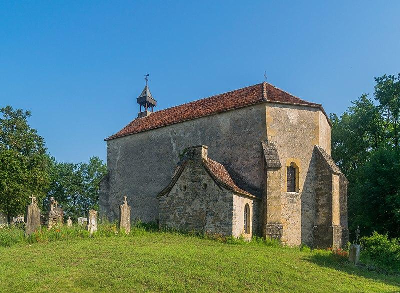 Photo du Monument Historique Ancienne église Notre-Dame de Tisseyrolles situé à Parisot