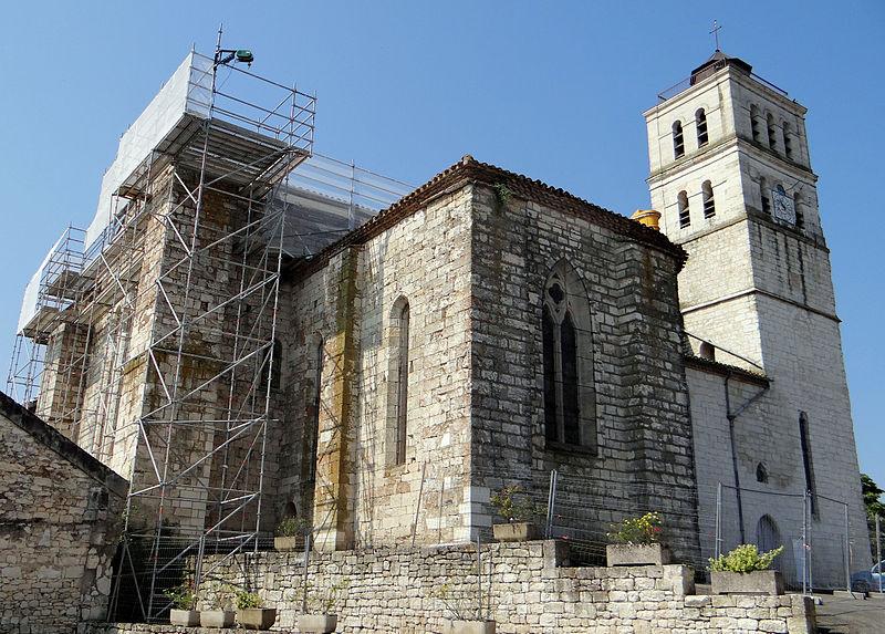 Photo du Monument Historique Eglise Saint-Jacques situé à Puylaroque