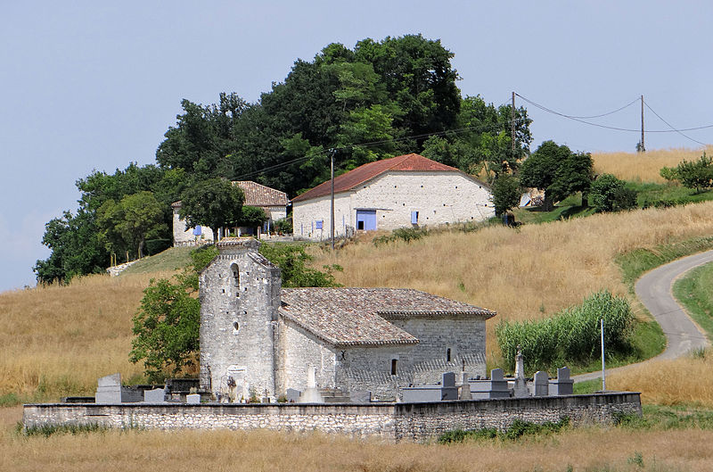 Photo du Monument Historique Chapelle de Claux situé à Roquecor