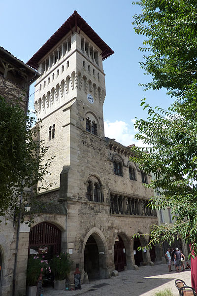 Photo du Monument Historique Ancien hôtel de ville situé à Saint-Antonin-Noble-Val
