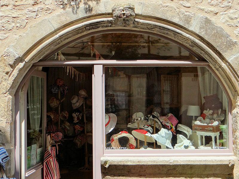 Photo du Monument Historique Maison de l'Amour situé à Saint-Antonin-Noble-Val