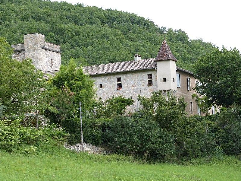 Photo du Monument Historique Ancien prieuré de Costejean situé à Saint-Antonin-Noble-Val