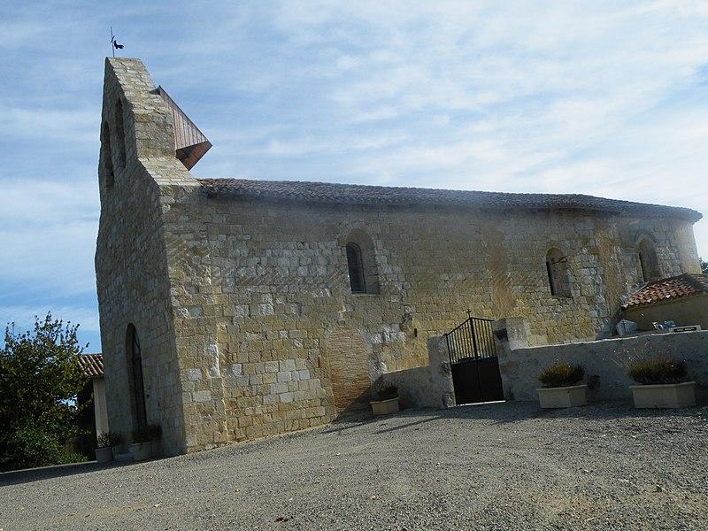 Photo du Monument Historique Eglise situé à Saint-Jean-du-Bouzet