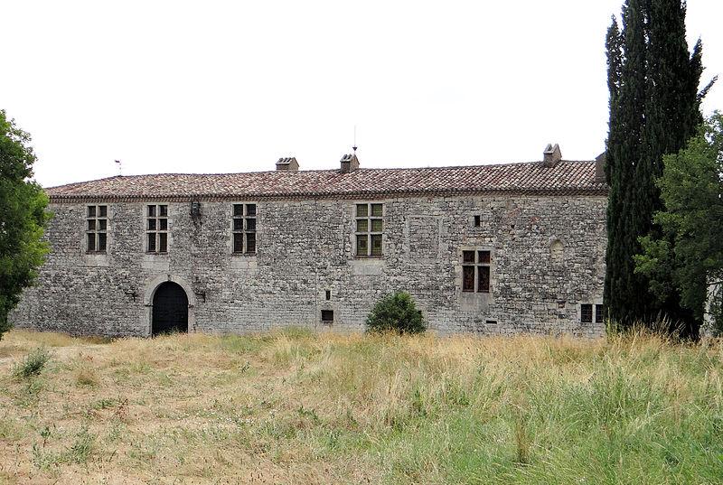 Photo du Monument Historique Château de la Barathie situé à Sainte-Juliette
