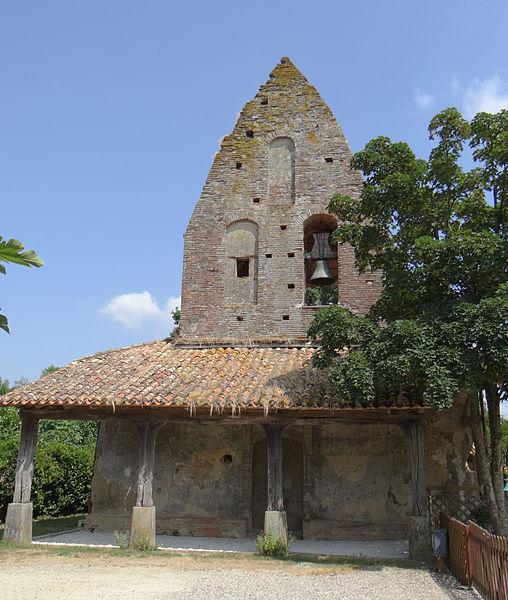 Photo du Monument Historique Eglise Notre-Dame du Moutet situé à Saint-Nicolas-de-la-Grave