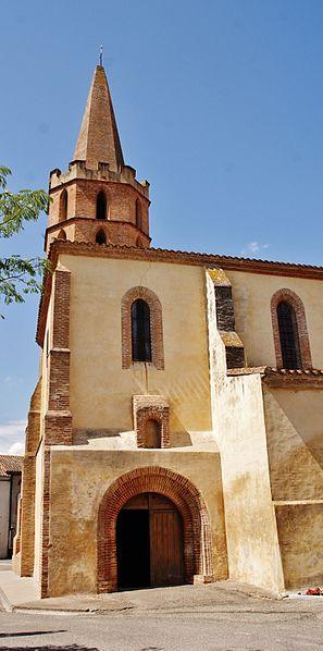 Photo du Monument Historique Eglise Saint-Clair situé à Saint-Porquier
