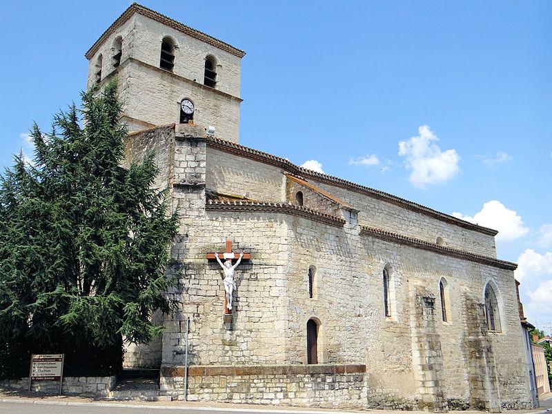 Photo du Monument Historique Eglise Saint-Julien situé à Vazerac