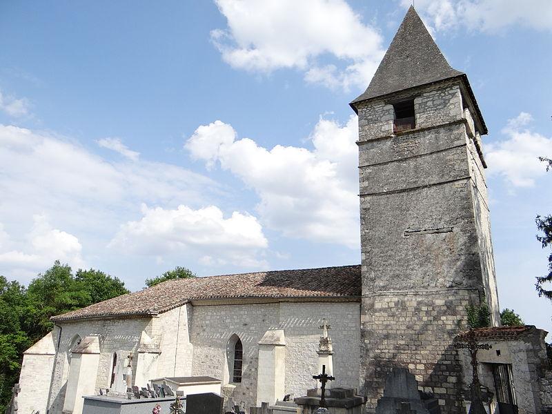 Photo du Monument Historique Eglise Saint-Christophe situé à Touffailles