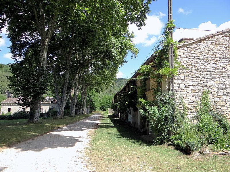 Photo du Monument Historique Forges de Caussanus situé à Bruniquel