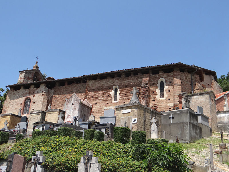 Photo du Monument Historique Eglise Saint-Félix situé à Piquecos