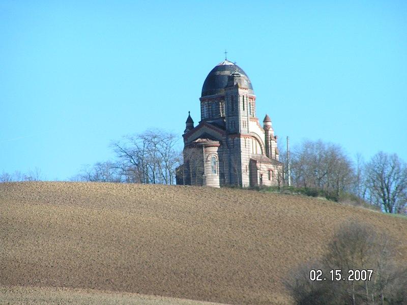 Photo du Monument Historique Eglise Notre-Dame de Lapeyrouse situé à Lafrançaise