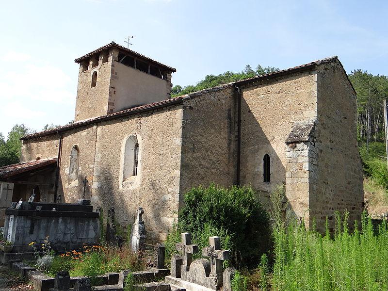 Photo du Monument Historique Eglise de Puech-Mignon situé à Laguépie