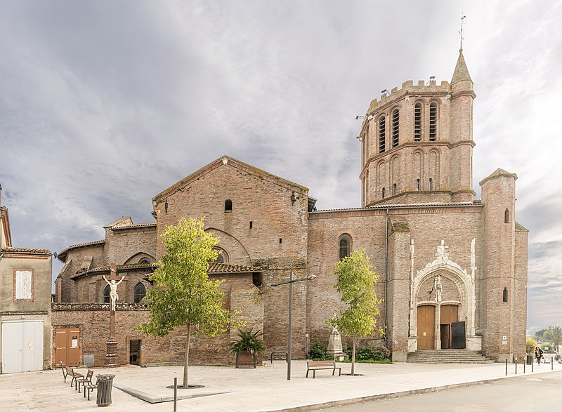Photo du Monument Historique Eglise Saint-Sauveur situé à Castelsarrasin