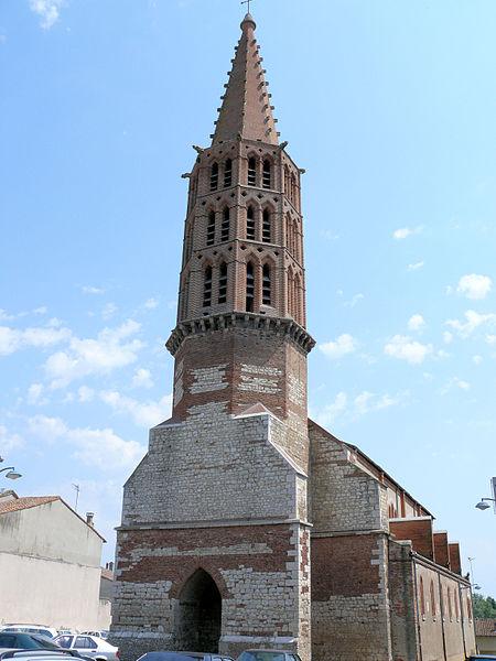 Photo du Monument Historique Eglise Saint-Pierre-ès-Liens situé à Nègrepelisse