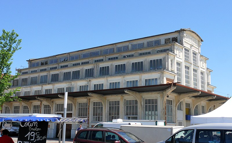 Photo du Monument Historique Ancien marché de Villebourbon situé à Montauban