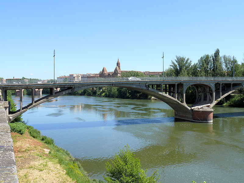 Photo du Monument Historique Pont Neuf situé à Montauban