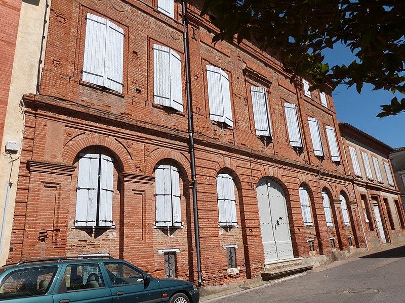 Photo du Monument Historique Hôtel situé à Verdun-sur-Garonne
