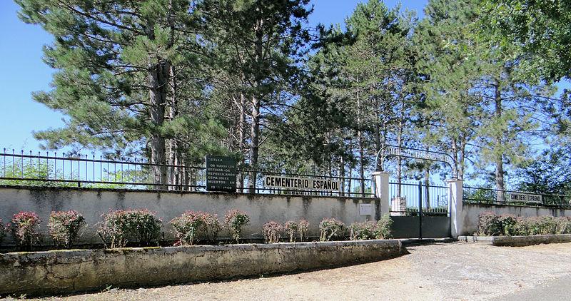 Photo du Monument Historique Cimetière des Espagnols du Camp de Judes situé à Septfonds