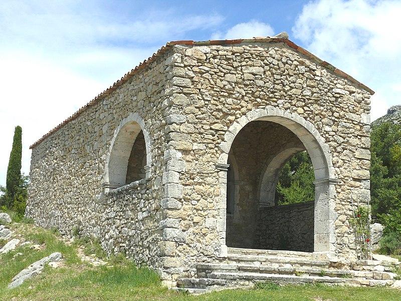 Photo du Monument Historique Chapelle Notre-Dame-des-Sept-Douleurs ou chapelle expiatoire situé à Bargème