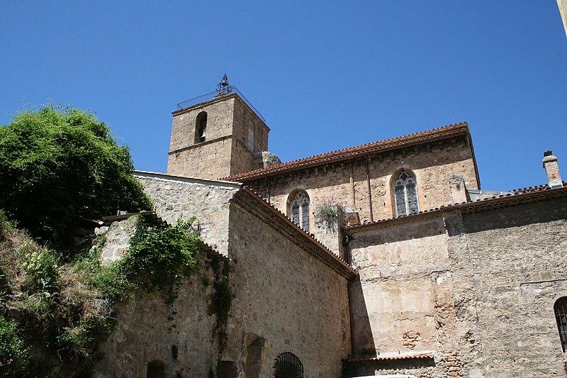 Photo du Monument Historique Eglise collégiale Notre-Dame dite aussi collégiale Saint-Marcel situé à Barjols