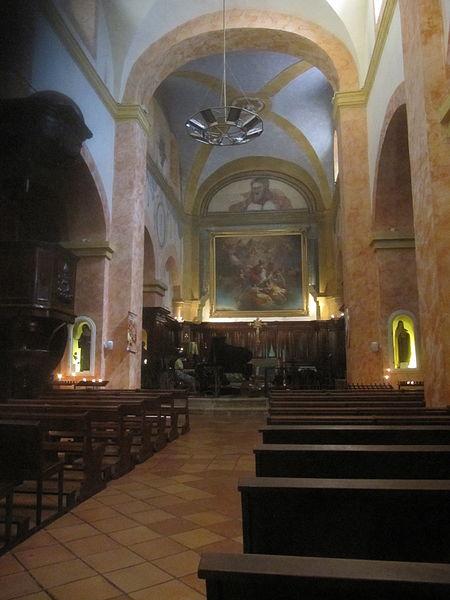Photo du Monument Historique Eglise situé à Bormes-les-Mimosas