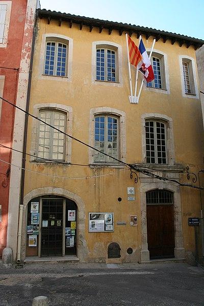 Photo du Monument Historique Hôtel Clavier situé à Brignoles
