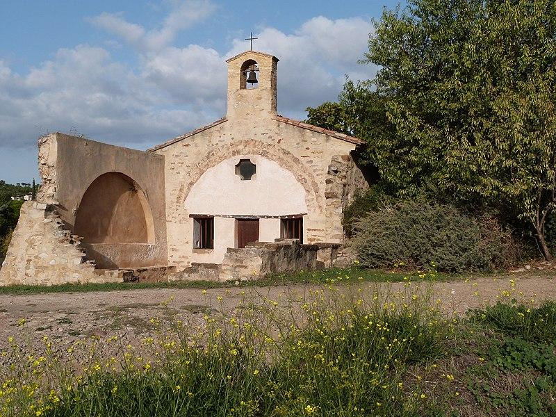 Photo du Monument Historique Chapelle Saint-Côme et Saint-Damien situé à Cadière-d'Azur (La)