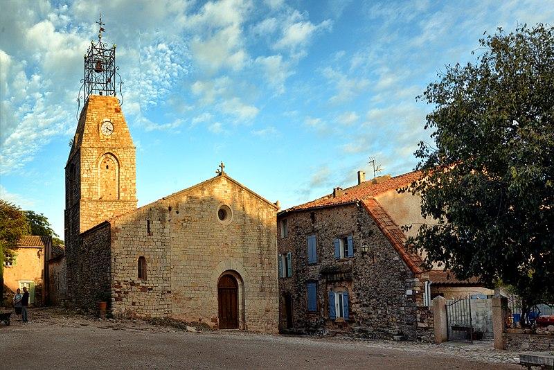 Photo du Monument Historique Eglise du Vieux-Canet situé à Le Cannet-des-Maures