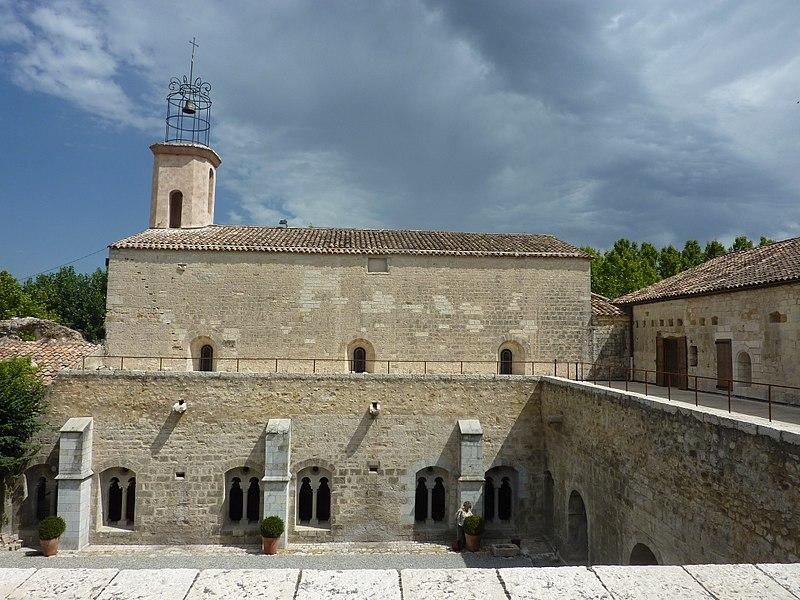 Photo du Monument Historique Abbaye situé à La Celle