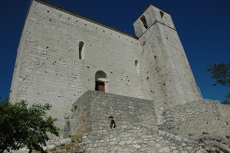 Photo du Monument Historique Chapelle des Templiers situé à Comps-sur-Artuby