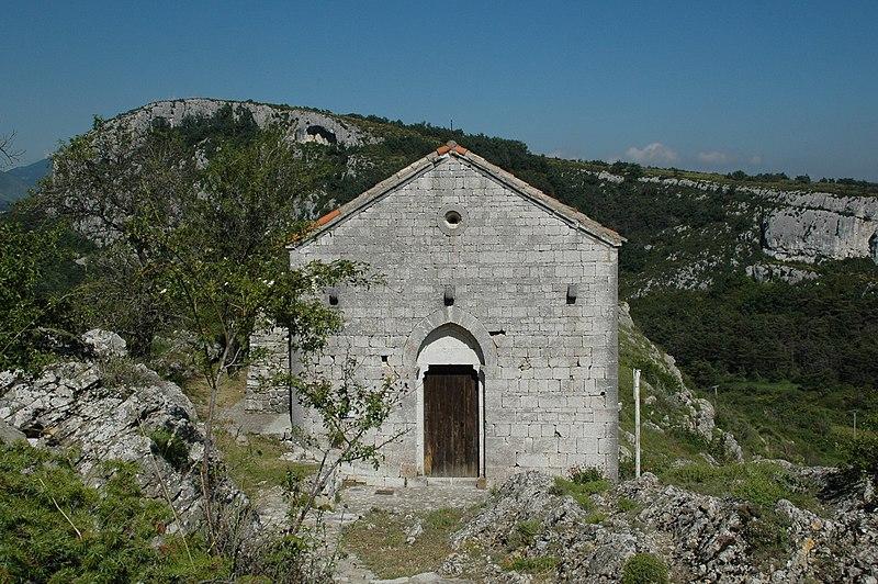 Photo du Monument Historique Chapelle Saint-Jean situé à Comps-sur-Artuby