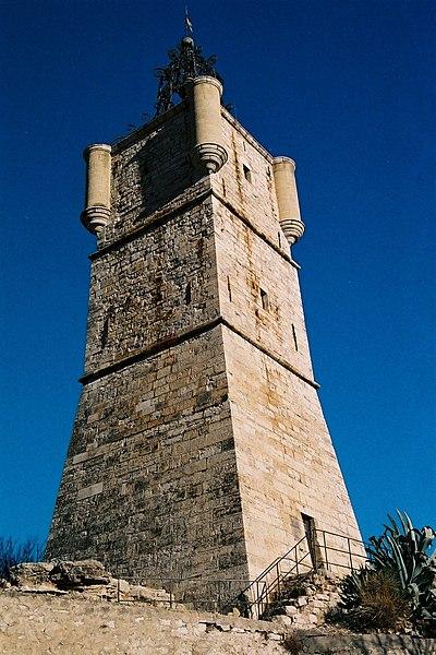 Photo du Monument Historique Tour de l'Horloge situé à Draguignan