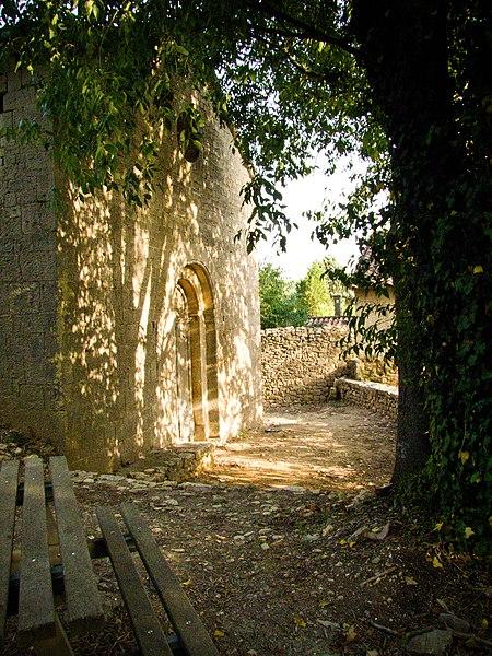 Photo du Monument Historique Chapelle Notre-Dame-de-l'Aube situé à Entrecasteaux