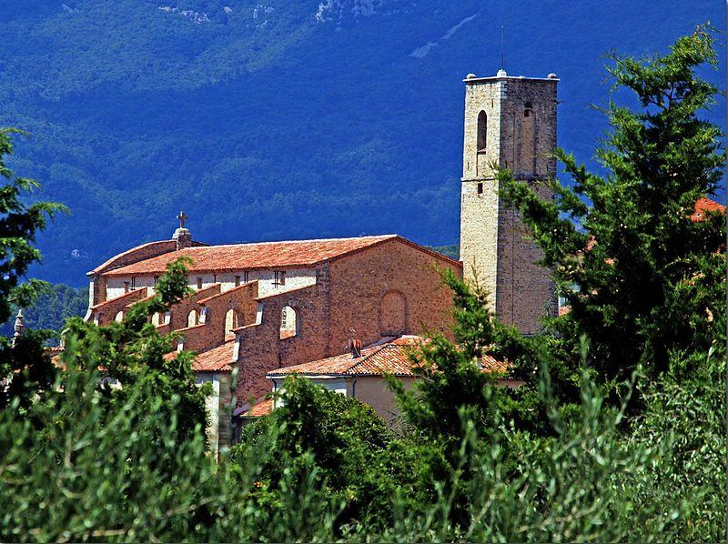 Photo du Monument Historique Eglise situé à Fayence