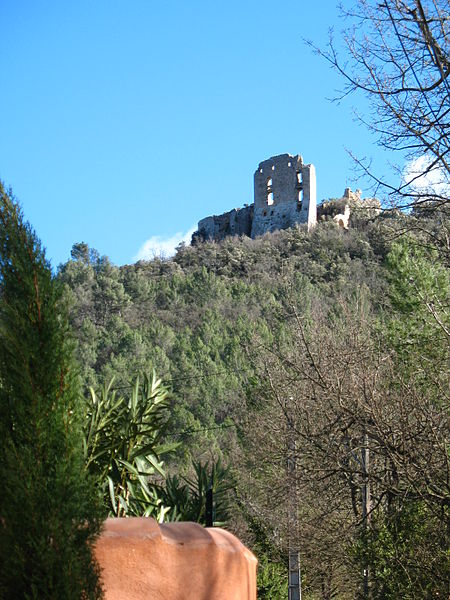 Photo du Monument Historique Château (ruines) situé à Forcalqueiret