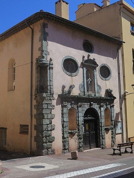 Photo du Monument Historique Ancien couvent des Dominicaines situé à Fréjus