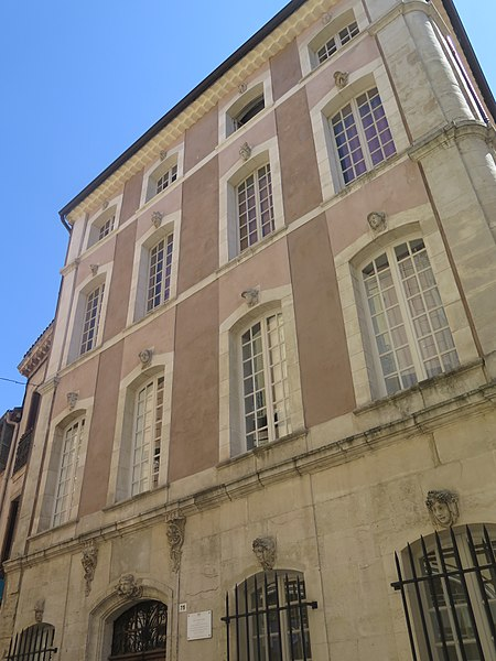 Photo du Monument Historique Hôtel des Quatre-Saisons situé à Fréjus