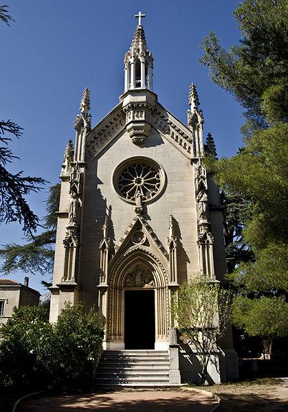 Photo du Monument Historique Chapelle Saint-Charles-Borromée de la Pauline situé à Garde (La)