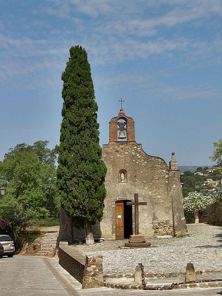 Photo du Monument Historique Chapelle des Pénitents situé à Grimaud