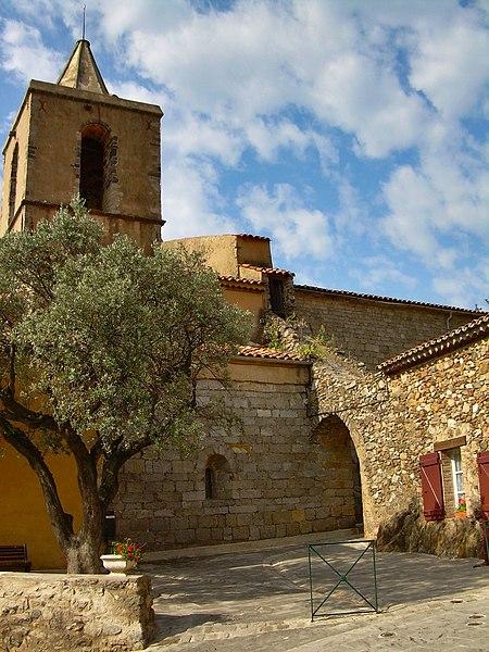 Photo du Monument Historique Eglise paroissiale Saint-Michel situé à Grimaud
