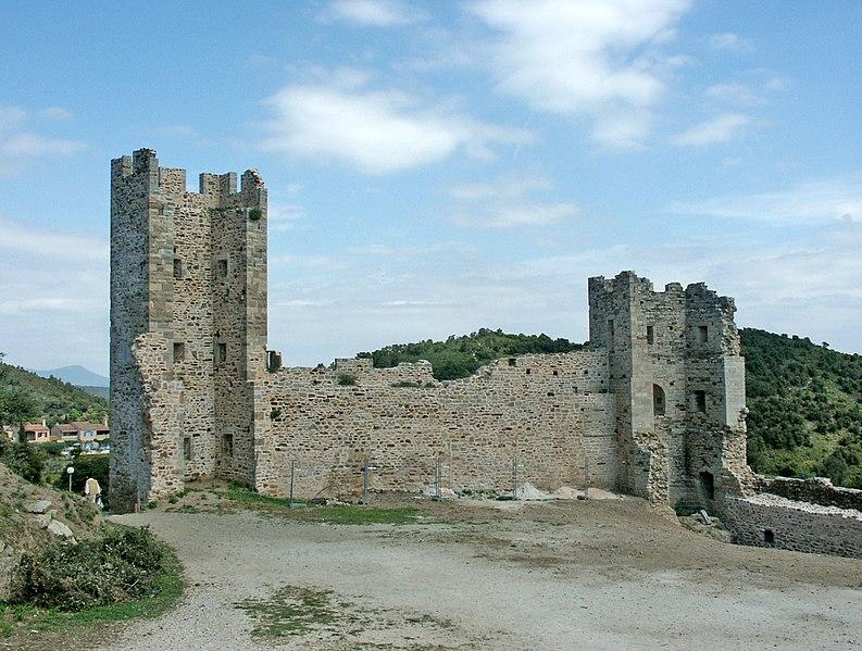 Photo du Monument Historique Château situé à Hyères