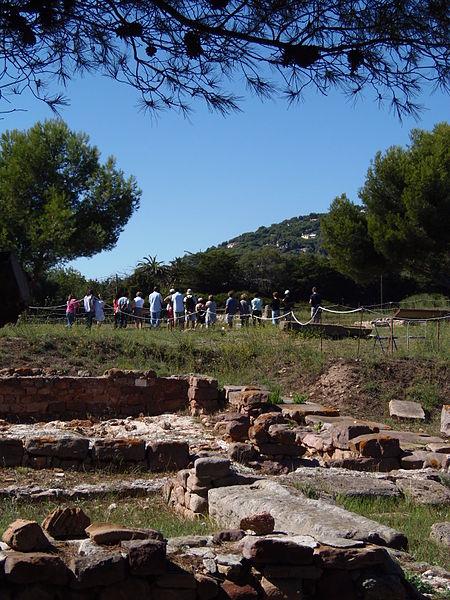Photo du Monument Historique Cité gréco-romaine d'Olbia-Pomponiana situé à Hyères