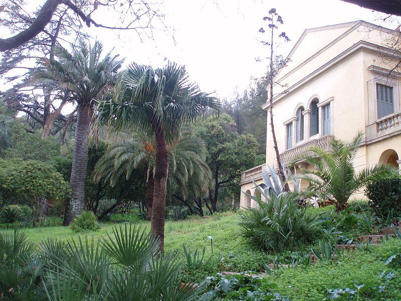 Photo du Monument Historique Propriété dite Le Plantier de Costebelle situé à Hyères