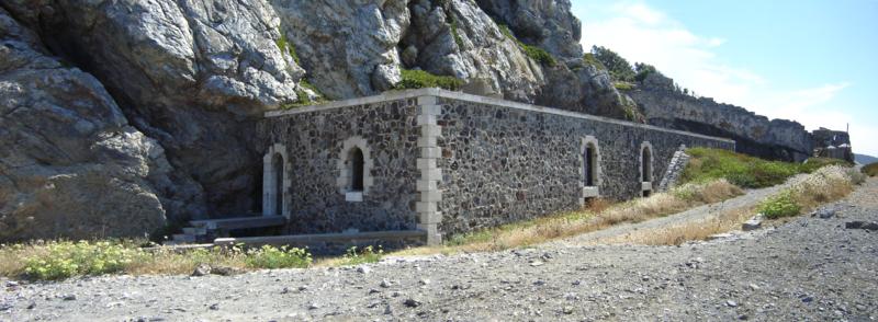 Photo du Monument Historique Batterie des Mèdes situé à Hyères