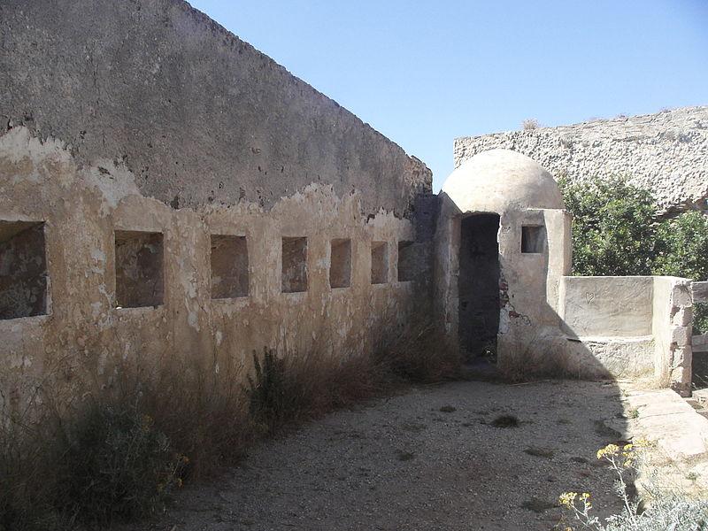 Photo du Monument Historique Fortin de l'Alicastre situé à Hyères