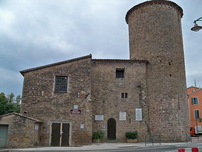 Photo du Monument Historique Castelet  avec sa tour dite de Charles Quint situé à Le Muy